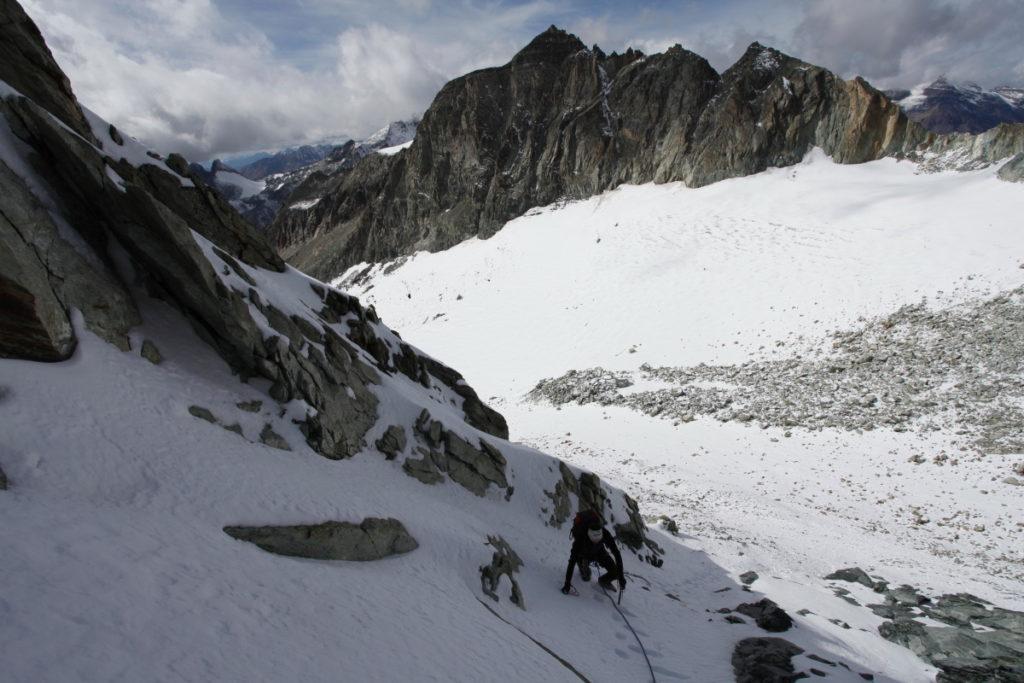 Salendo verso il Monte Cervo